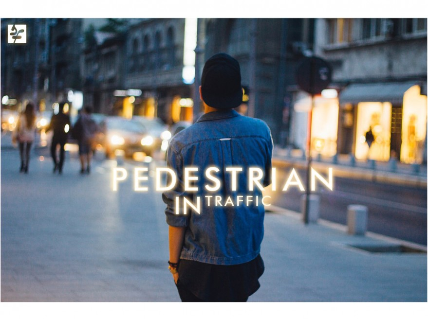 Pedestrian In Traffic